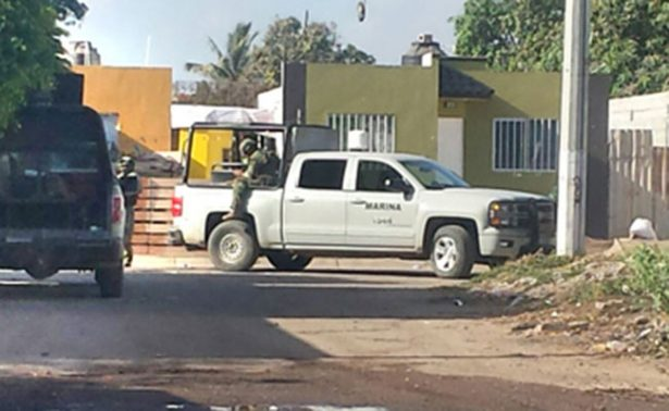 Se enfrentan Marinos y grupo armado en Sinaloa