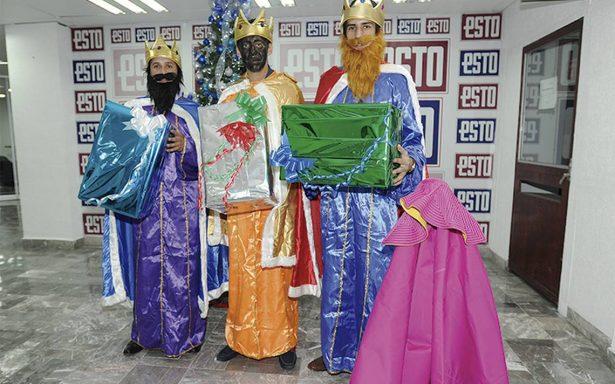 Los Reyes Magos visitaron el ESTO antes de entregar regalos a los niños