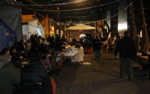 Vecinos del Multifamiliar de Tlalpan reciben el 2018