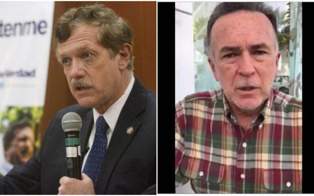 Apoya Medina Plascencia a Romero Hicks como candidato presidencial del Frente