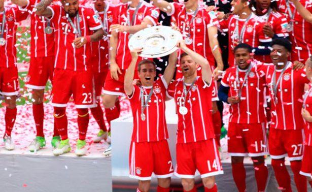Como campeones se despiden Xabi Alonso y Philipp Lahm del futbol