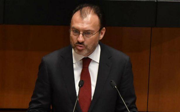 México seguirá en renegociación del TLCAN si conviene al interés nacional: Videgaray