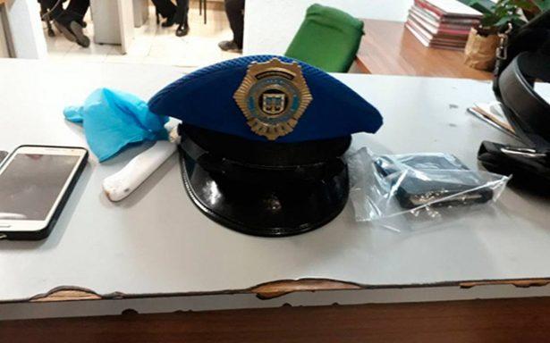 Policía auxiliar de la CDMX asalta combi en Ecatepec y desata balacera