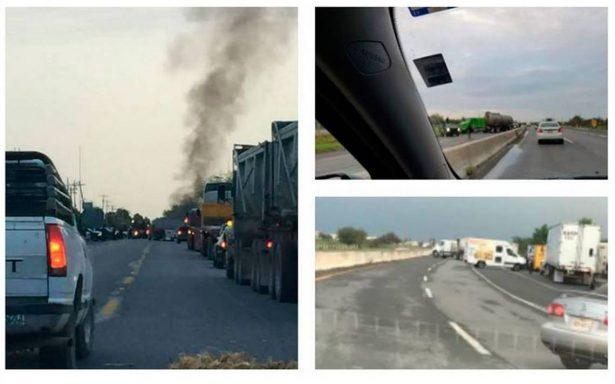 Reynosa vive jornada de balaceras; bloquean puente internacional