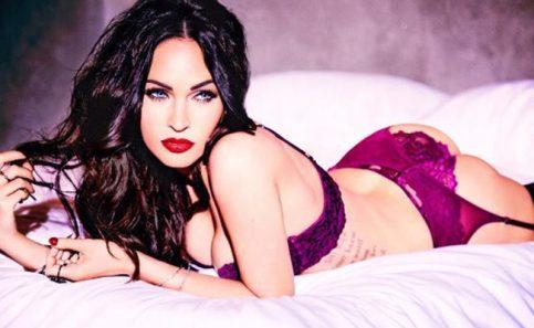 Megan Fox posa en sensual lencería para sus seguidores