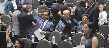 Diputados de PRI y PAN pelean por Ley de Seguridad