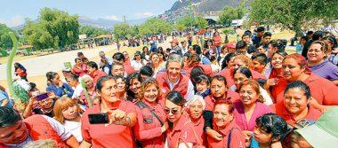Promete Del Mazo la construcción de un teleférico y hospital en Tlalnepantla