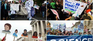 Miles de personas en 600 ciudades protestan en defensa de la Ciencia