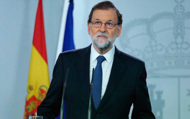 Se ha impuesto el estado de derecho al impedir referéndum catalán: Rajoy