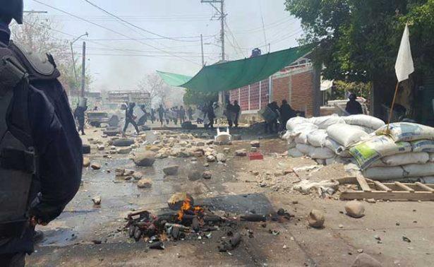 Ejército arriba a Totolapan tras enfrentamiento entre policías y pobladores