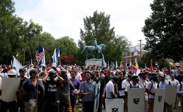 Helicóptero cae en Virginia tras crisis por protestas neonazis