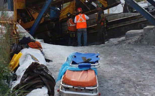 Tras derrumbe de mina en Coahuila hallan cuerpo de hombre atrapado