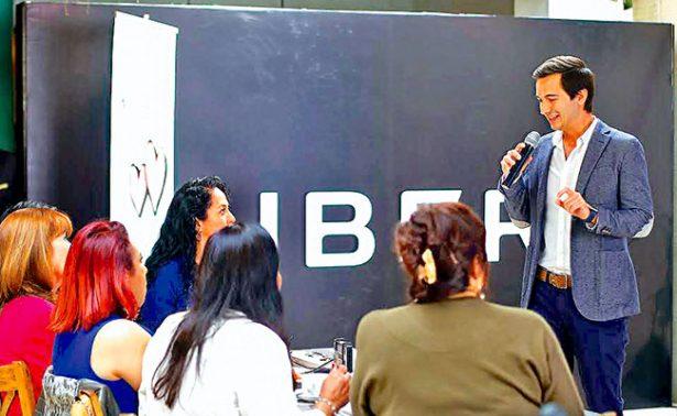 Más de 8 mil mamás manejan Uber, señala director general de Uber México y Caribe