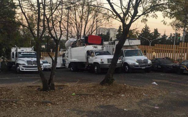 Vecinos rechazan parque de desechos en Álvaro Obregón