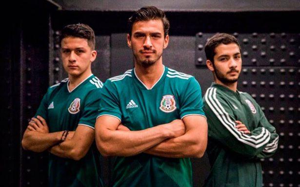 Esta es la nueva playera de la Selección Mexicana que portará en Rusia 2018