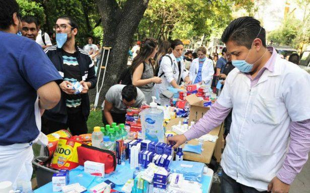 Habilita Zacatecas centros de acopio para afectados por sismo