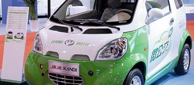 Arranca automóvil verde en China