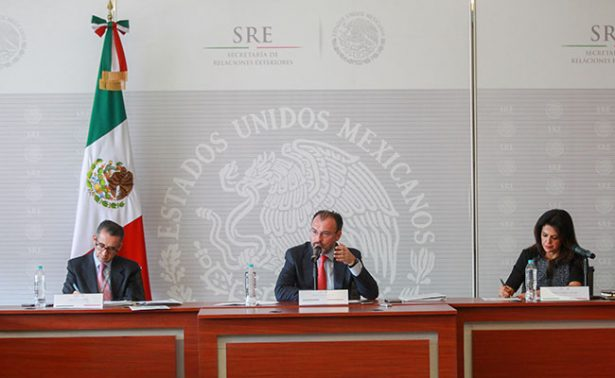 Demanda Videgaray ayuda de EU en lucha contra narcotráfico
