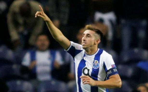 Herrera y Layún anotaron goles frente al Moreirense