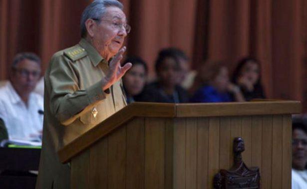 Apoya Raúl Castro a FARC y ELN en sus procesos de paz en Colombia