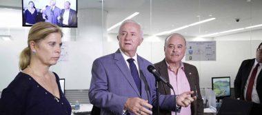 Senadores del PAN exigen destitución de Ruiz Esparza tras socavón en Paso Express