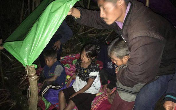 Cuatro niños desplazados en Chiapas mueren por hambre y frío