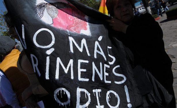 Comunidad LGBT, víctima de 67 crímenes de odio al año según informe