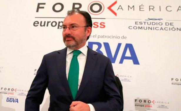 Negociación comercial del TLCAN iniciaría en verano: Videgaray