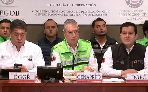 Aumenta a un millón 333 mil la cifra de afectados tras el sismo: Protección Civil