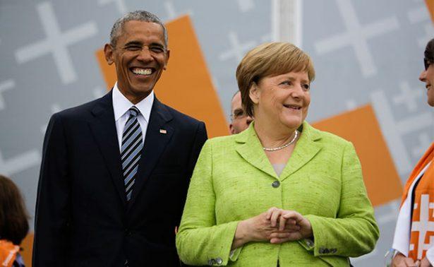 No podemos escondernos detrás de un muro, afirma Obama desde Berlín