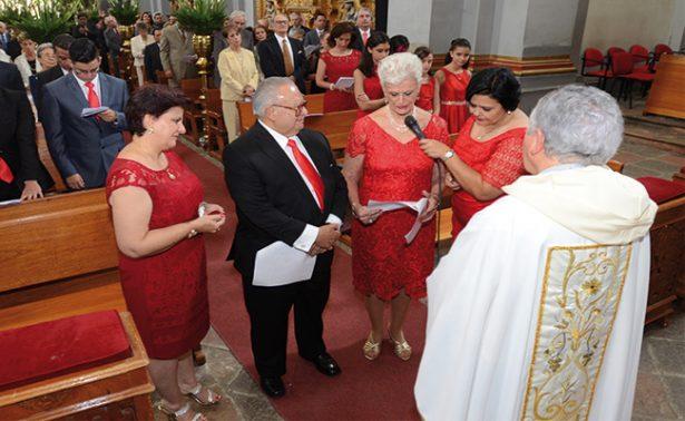 Como la primera vez, Julia y Rafael celebran 50 años de amor