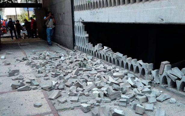 Fuerte sismo en México deja 47 muertos; reportan derrumbes y severos daños
