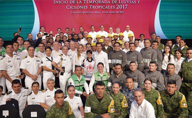Ordena Enrique Peña Nieto fortalecer el Sistema de Protección Civil
