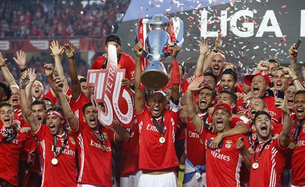 Benfica, se proclamó, campeón de la Liga portuguesa