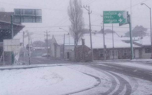 Norte del país estará bajo la nieve por tormenta invernal