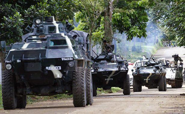 Tropas filipinas atacan ciudad tomada por Estado Islámico