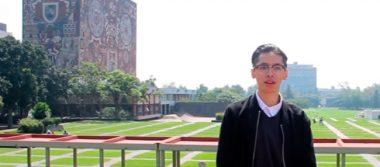 Lesthat Martínez López obtuvo puntaje perfecto en examen de la UNAM