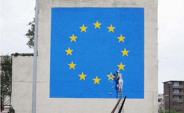 Banksy lo vuelve hacer, ahora con el Brexit