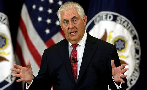Relación entre EU y Rusia un nivel más bajo que tras Guerra Fría: Tillerson