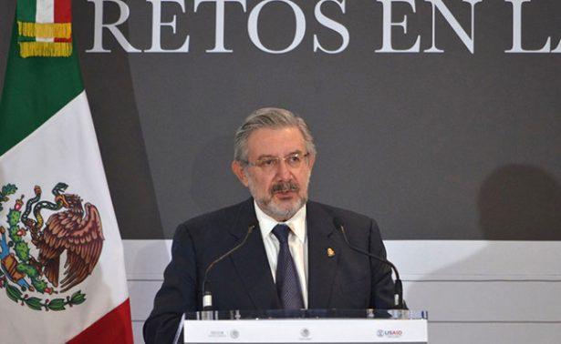 Es momento de dar otro paso en consolidación del NSJP: Aguilar