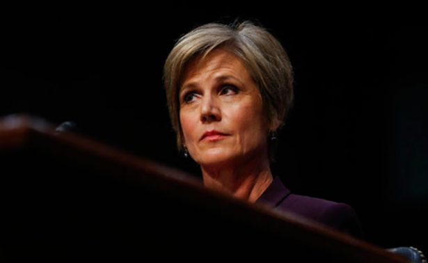 Exfiscal general, Sally Yates, alertó a la Casa Blanca de un chantaje de Rusia