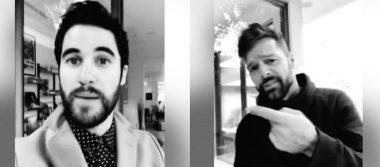 Darren Criss anuncia concierto en la CDMX con ayuda de ¡Ricky Martín!