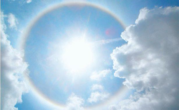 Halos solares, presagios para fines agrícolas