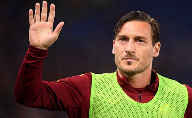 Totti jugará el domingo su último partido con Roma