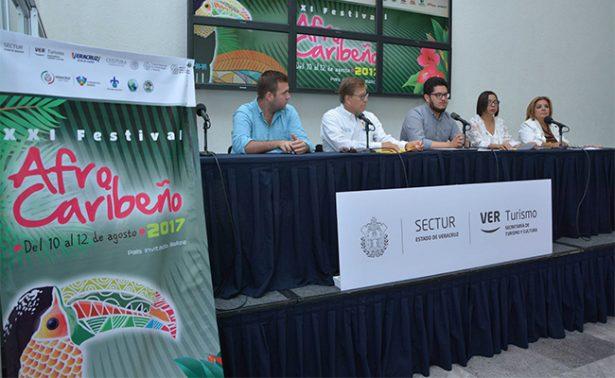 Todo listo para el Festival Afrocaribeño 2017 en Veracruz