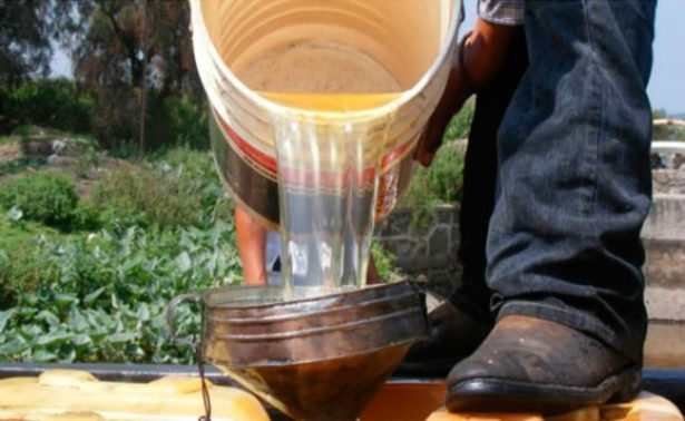 Combustible asegurado en la CDMX es de Veracruz