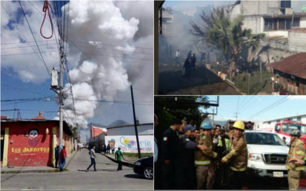 Explota polvorín en San Cristóbal de las Casas; hay un herido