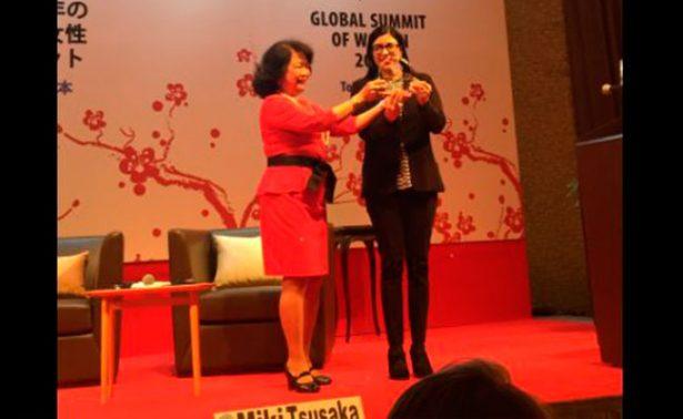 Cumbre Global de Mujeres premia a México en materia social