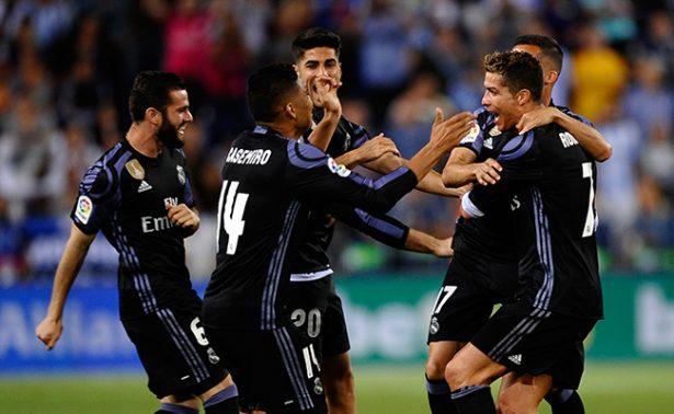 Real Madrid campeón de Liga española tras vencer al Málaga