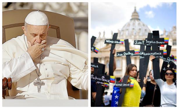Papa Francisco expresa gran preocupación a obispos por crisis en Venezuela